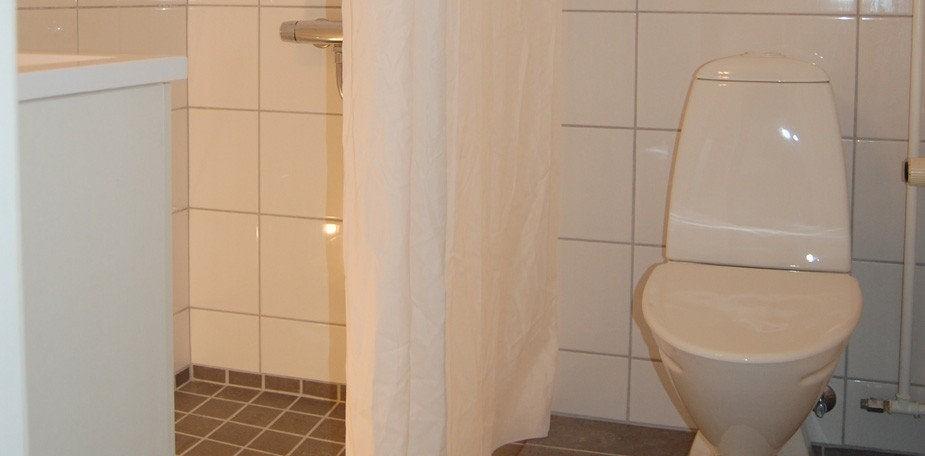 Badeværelse dobbeltværelse Hotel Balka Strand