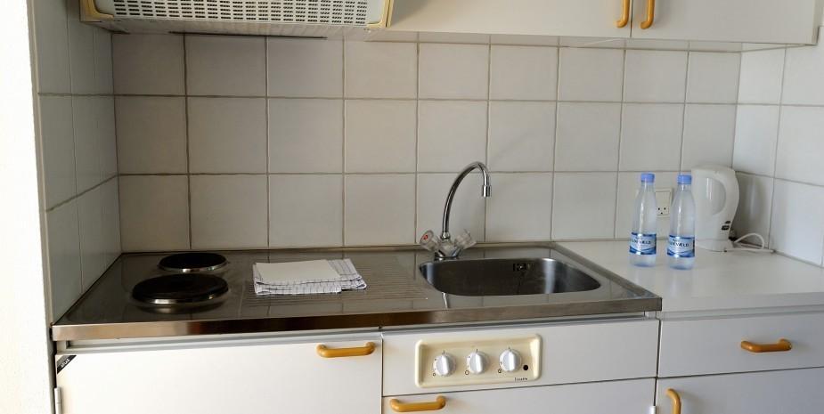 Küche Studio Apartment Hotel Balka Strand